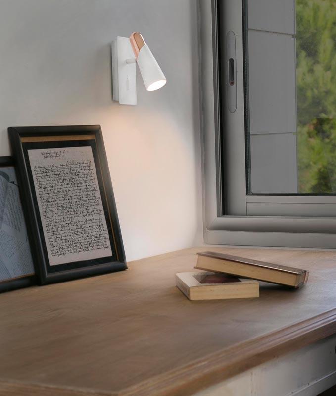 Lámpara minimalista aplique LAO LED ambiente