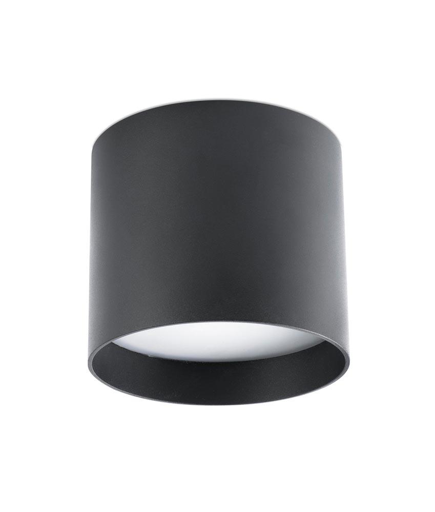 L mpara plaf n redondo negro natsu led la casa de la l mpara - La casa de las lamparas barcelona ...