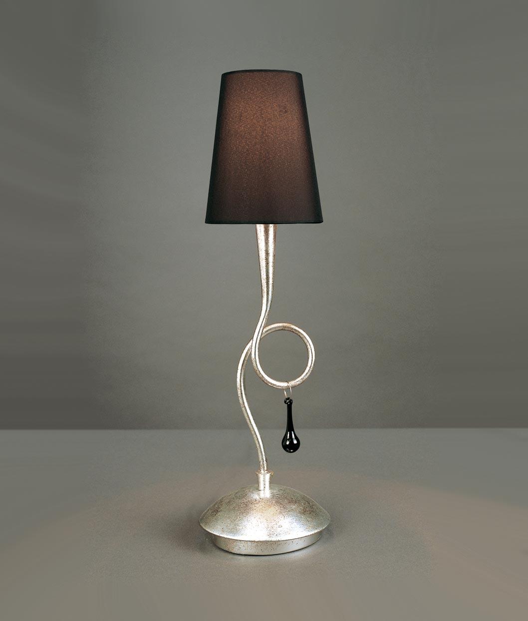Lámpara sobremesa elegante PAOLA
