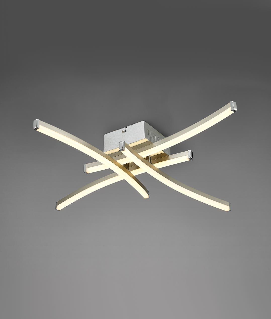 Plafón minimalista LED SURF detalle