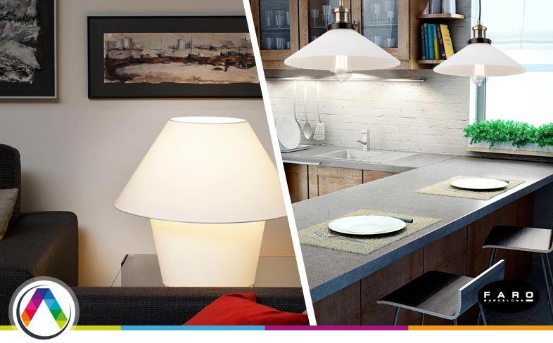 8 tipos de iluminaci n en la decoraci n la casa de la for Decoracion iluminacion