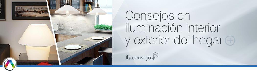 Iluconsejo en iluminación interior y exterior - La Casa de la Lámpara