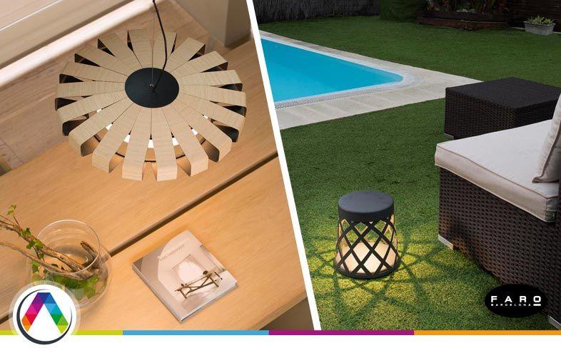 Iluminación interior y exterior del hogar - La Casa de la Lámpara