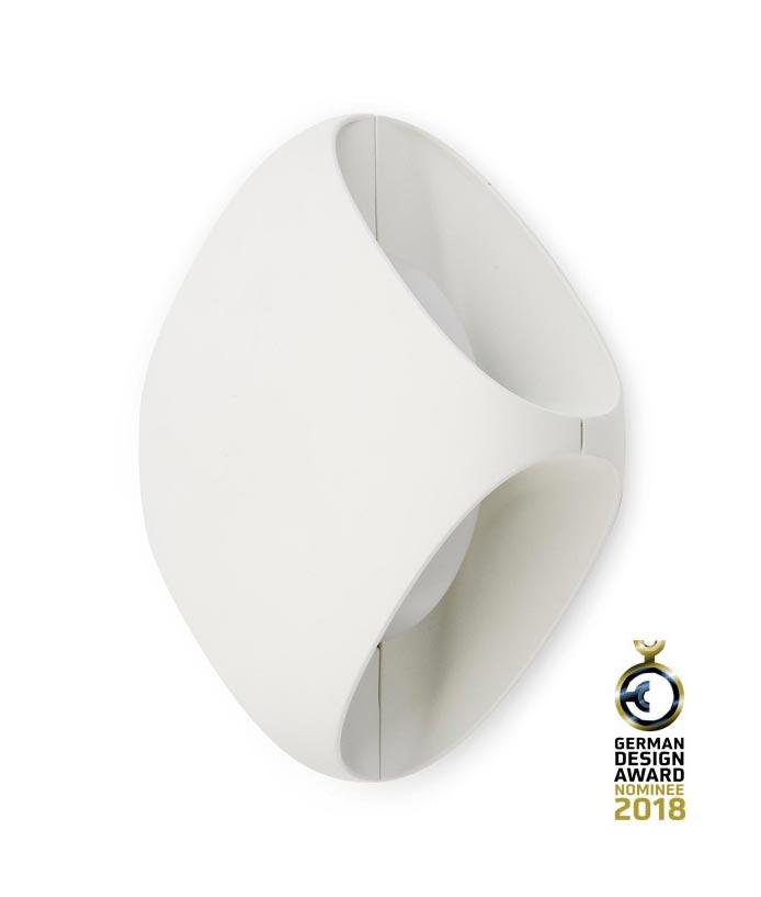 Aplique exterior LED BU-OH blanco - La Casa de la Lámpara