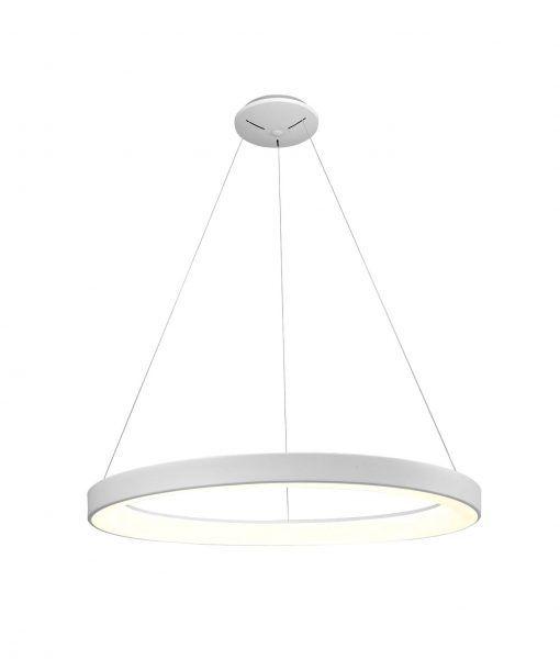 Colgante grande dimmable blanco NISEKO LED