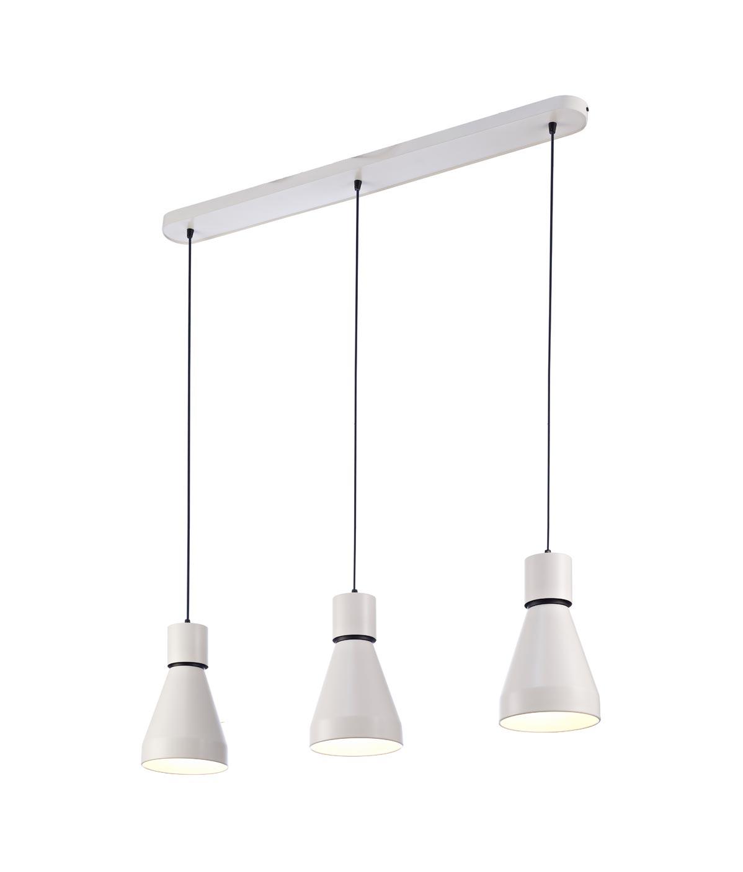 Iluminación lineal colgante 3 luces KOS