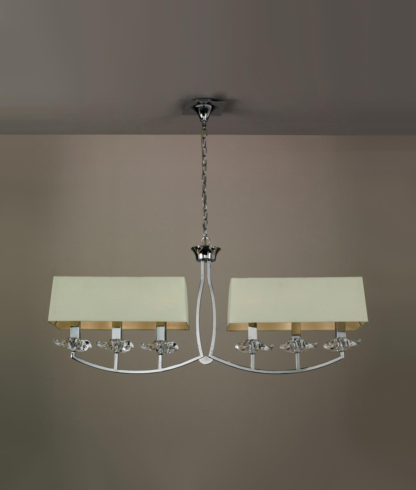 Iluminación techo lineal AKIRA detalle