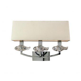 Lámpara aplique 3 luces AKIRA