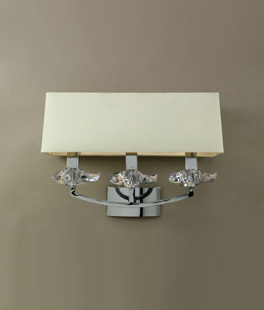 Lámpara aplique 3 luces AKIRA detalle