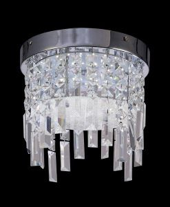 Lámpara circular cristal KAWAI LED detalle