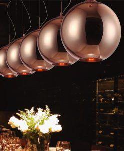 Lámpara colgante CRYSTAL BRONCE ambiente