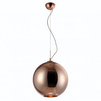 Lámpara colgante grande CRYSTAL BRONCE
