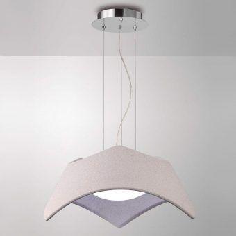 Lámpara colgante cemento MAUI nueva