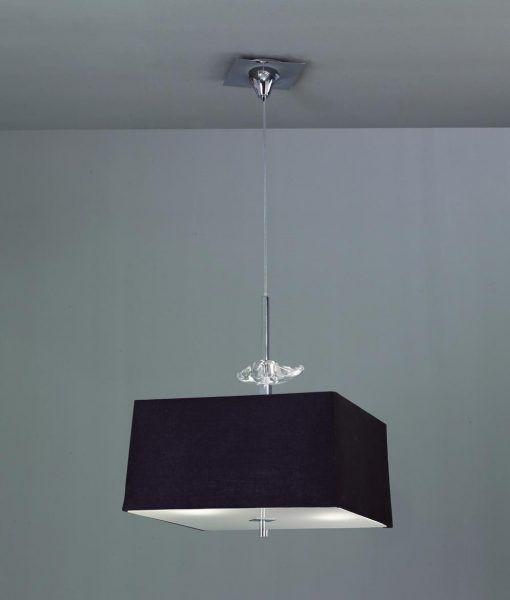 Lámpara cuadrada 4 luces AKIRA