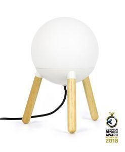 Lámpara de diseño blanca MINE - Premiada