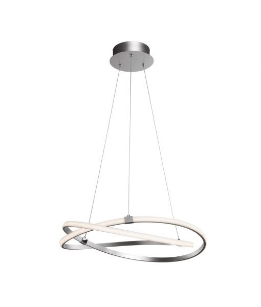 Lámpara de techo mediana cromo INFINITY – La Casa de la Lámpara