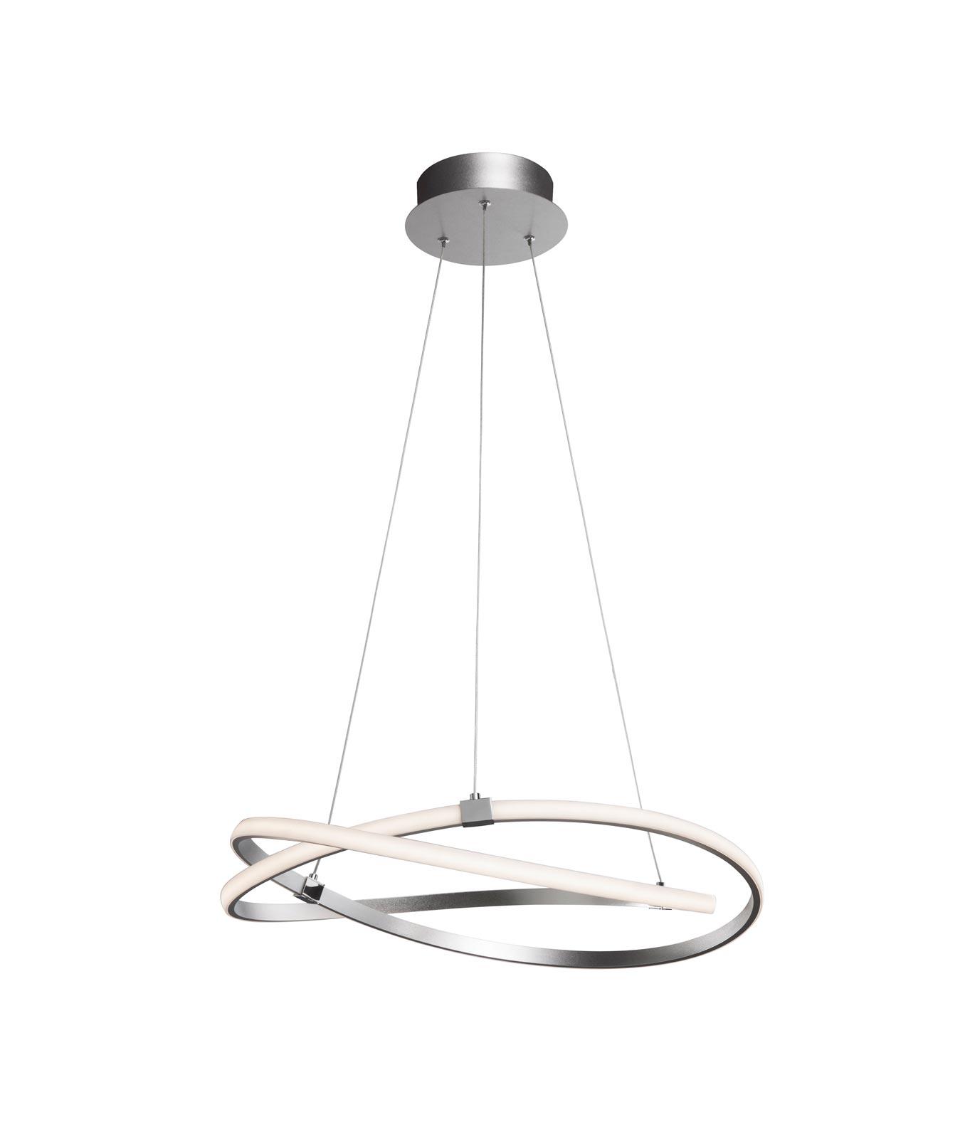 Lámpara de techo mediana cromo INFINITY - La Casa de la Lámpara