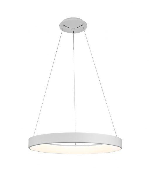Lámpara mediana dimable blanca NISEKO LED