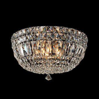 Lámpara plafón grande 5 luces CRYSTAL G9