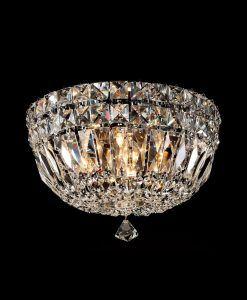 Lámpara plafón pequeño 4 luces CRYSTAL G9