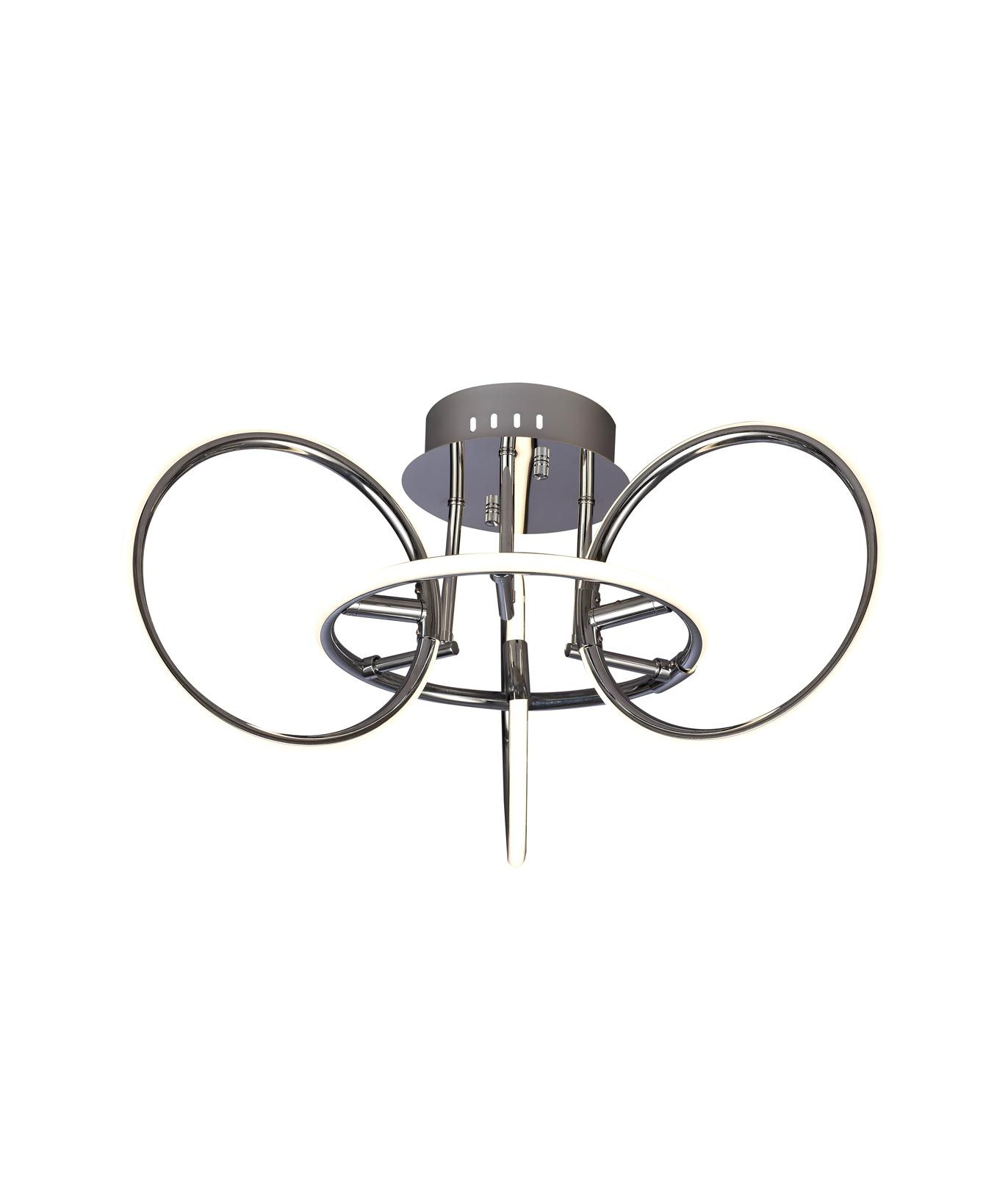 Lámpara semiplafón pequeño dimable AROS LED