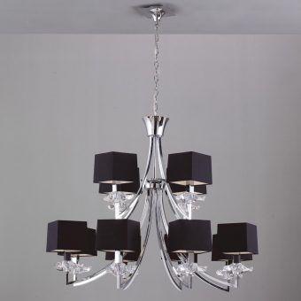 Lámpara sofisticada 12 luces AKIRA