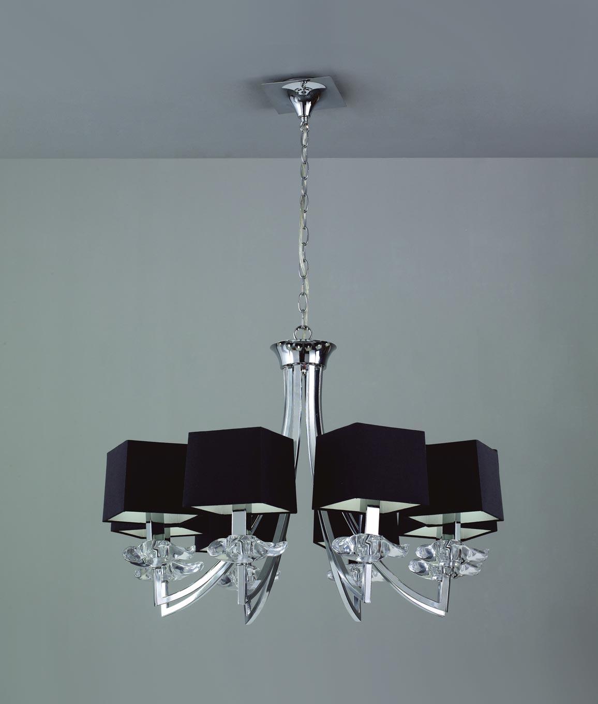 Lámpara techo sofisticada 8 luces AKIRA