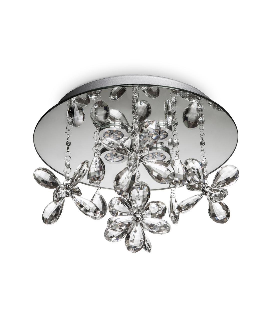 Luminaria circular cristal KAWAI LED