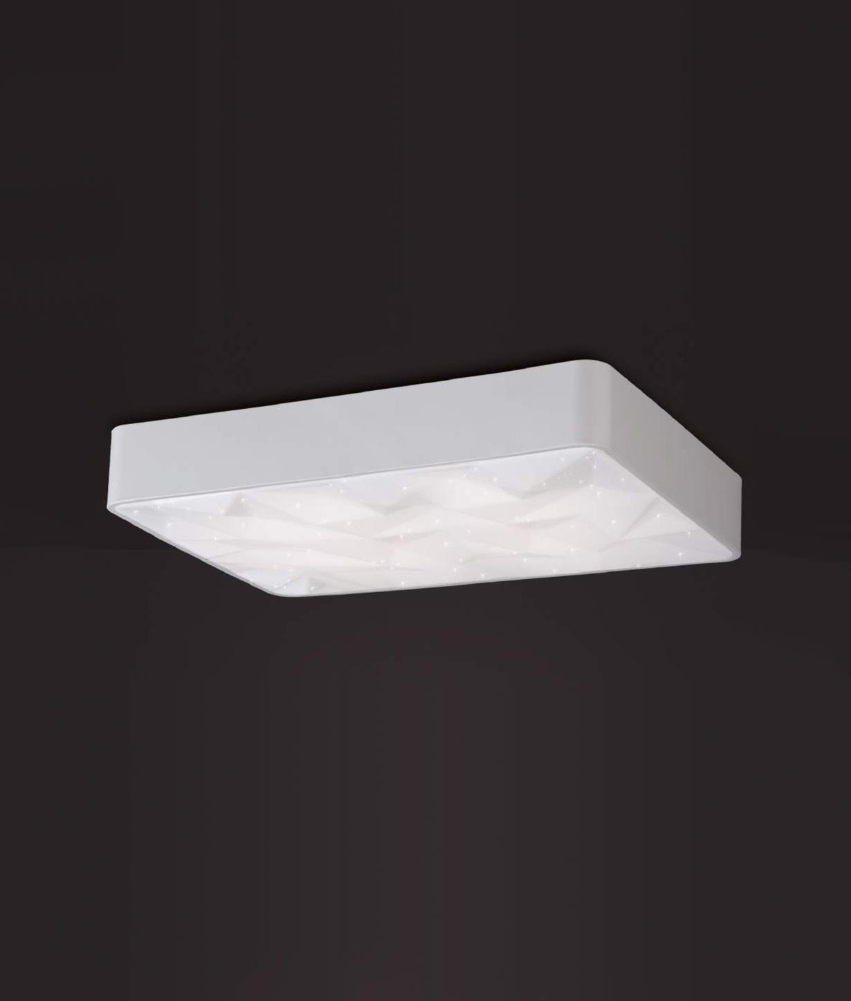 Luminaria rectangular dimmable ROMBOS LED