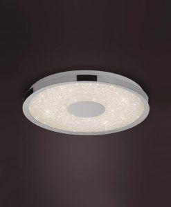Plafón cromo con mando CENTARA LED