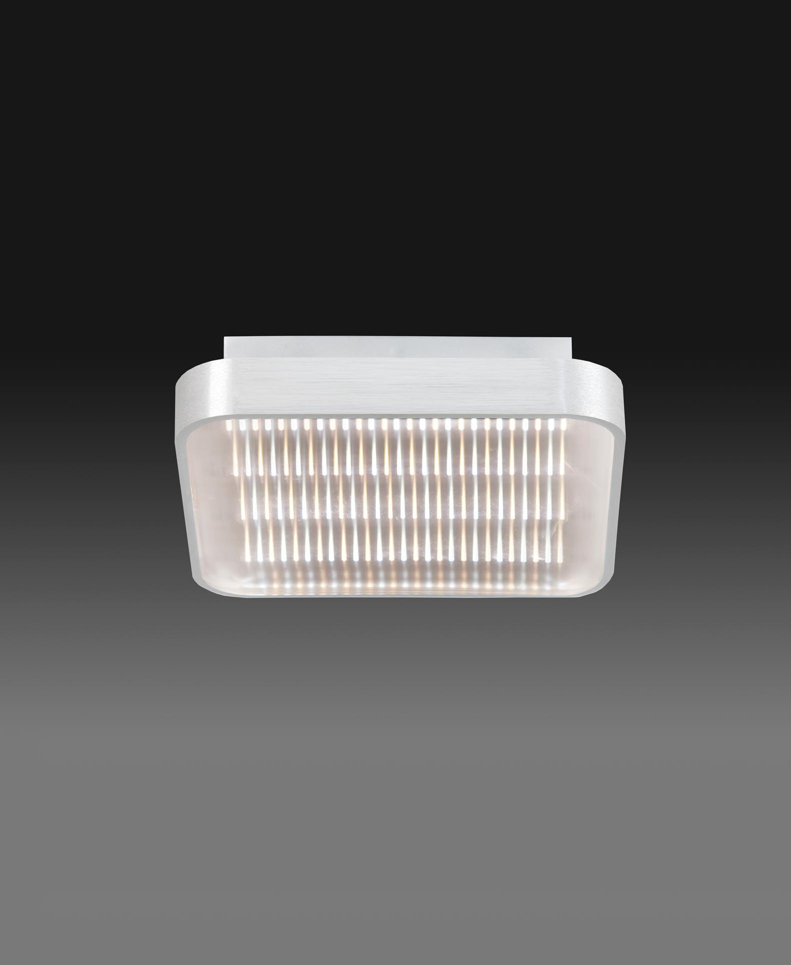 Plafón cuadrado 18W REFLEX LED detalle