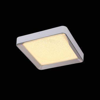 Plafón cuadrado mediano con mando MALE LED