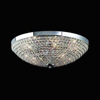 Plafón grande 9 luces CRYSTAL BALLS