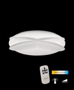 Plafón grande con mando LASCAS LED detalle