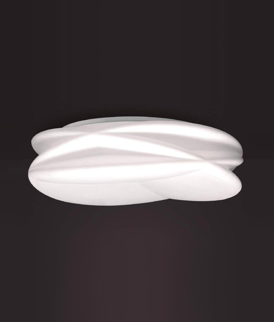 Plafón grande con mando LASCAS LED