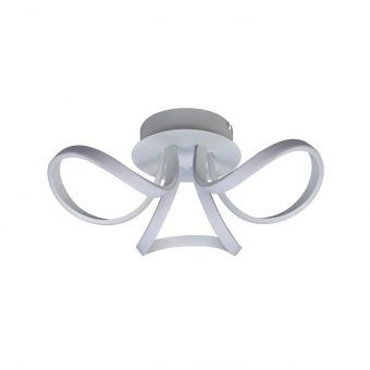 Plafón LED dimmable blanco KNOT LED