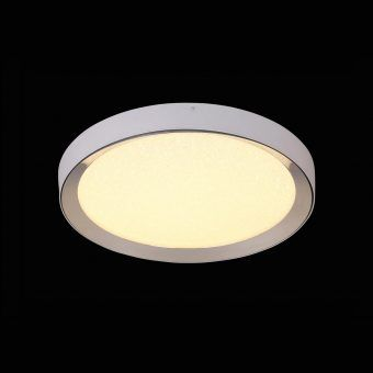 Plafón redondo mediano con mando MALE LED