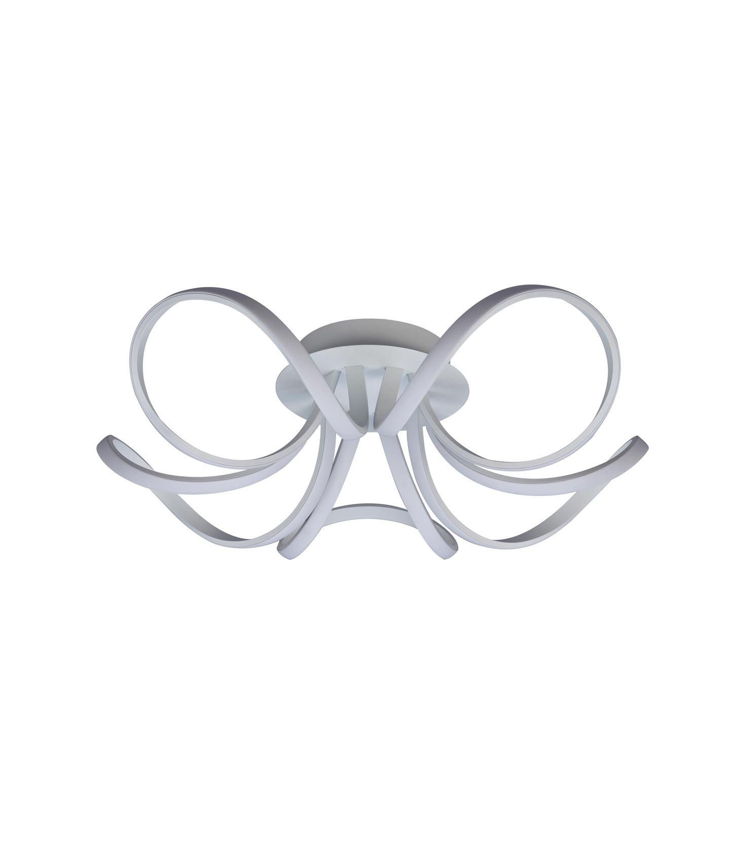 Plafón techo blanco dimmable KNOT LED
