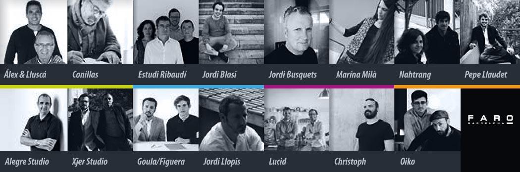 Diseñadores Faro Barcelona - La Casa de la Lámpara