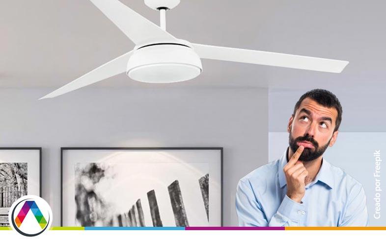 Precaución ¿Se puede instalar un ventilador en un techo de escayola?