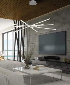 Lámpara colgante moderna dimmable STAR LED ambiente