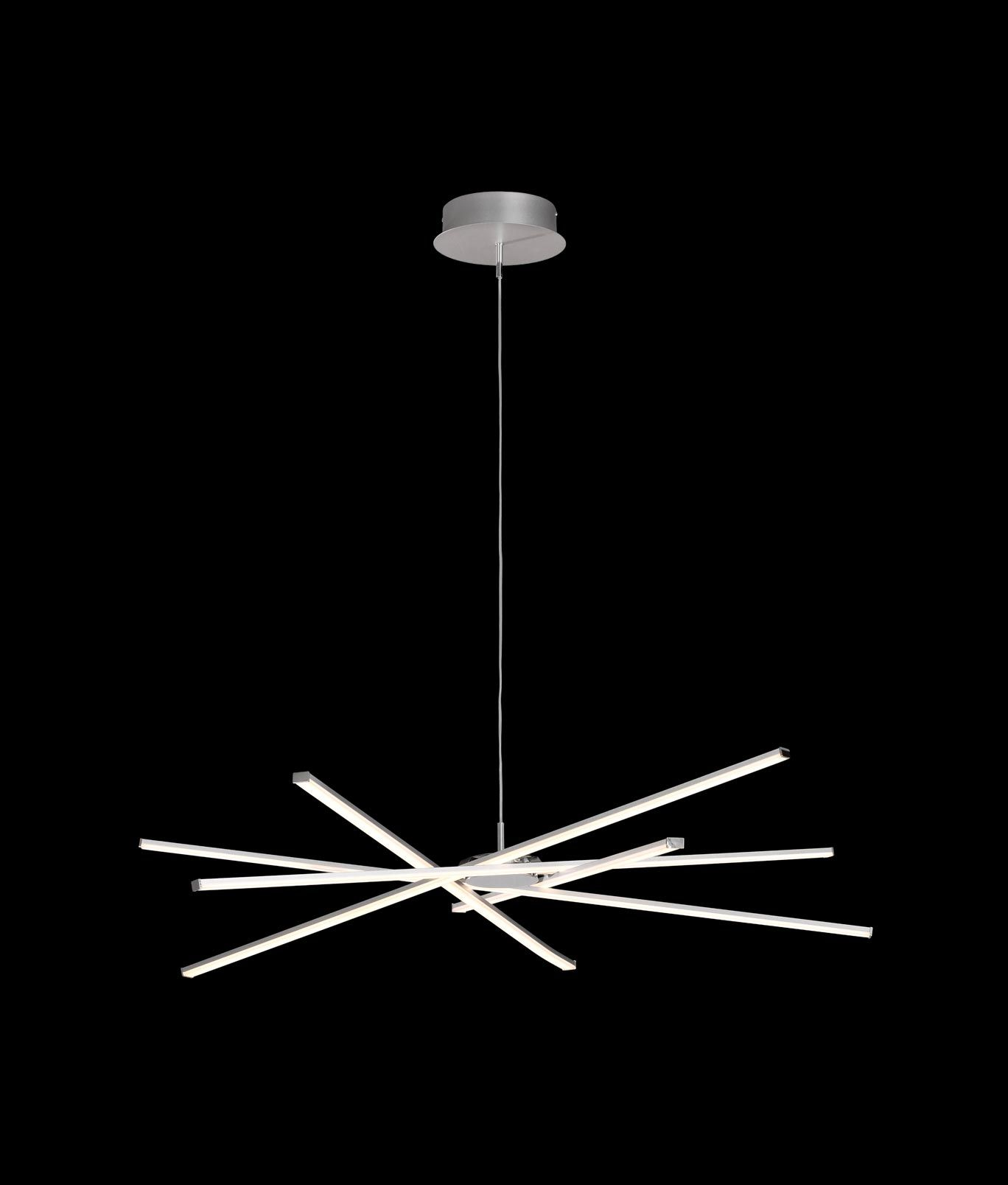 L mpara colgante moderna dimmable star led la casa de la for Lamparas led diseno