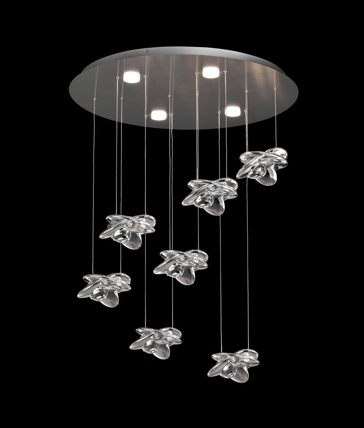 Lámpara elegante techo NIDO LED