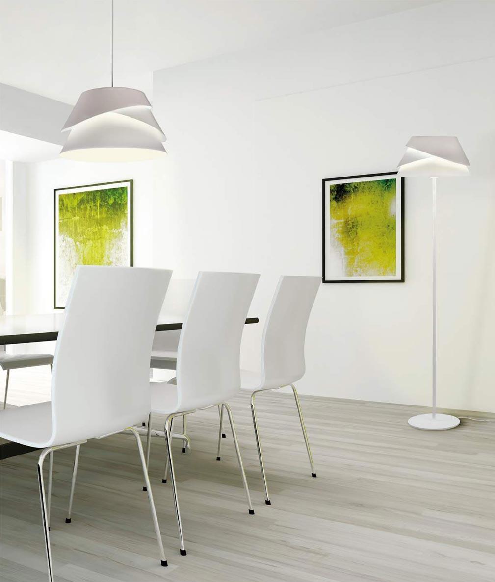 Lámparas modernas ALBORAN ambiente - La Casa de la Lámpara