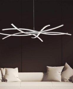 Lámparas techo colgantes grande AIRE LED ambiente