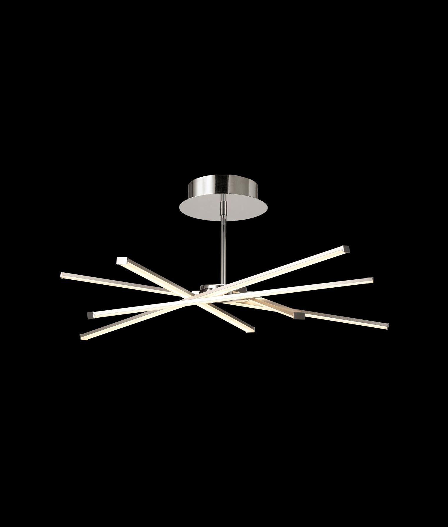 Plaf n dise o dimmable star led la casa de la l mpara for Lamparas led diseno