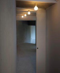 Aplique o plafón minimalista color cobre TEN ambiente 2