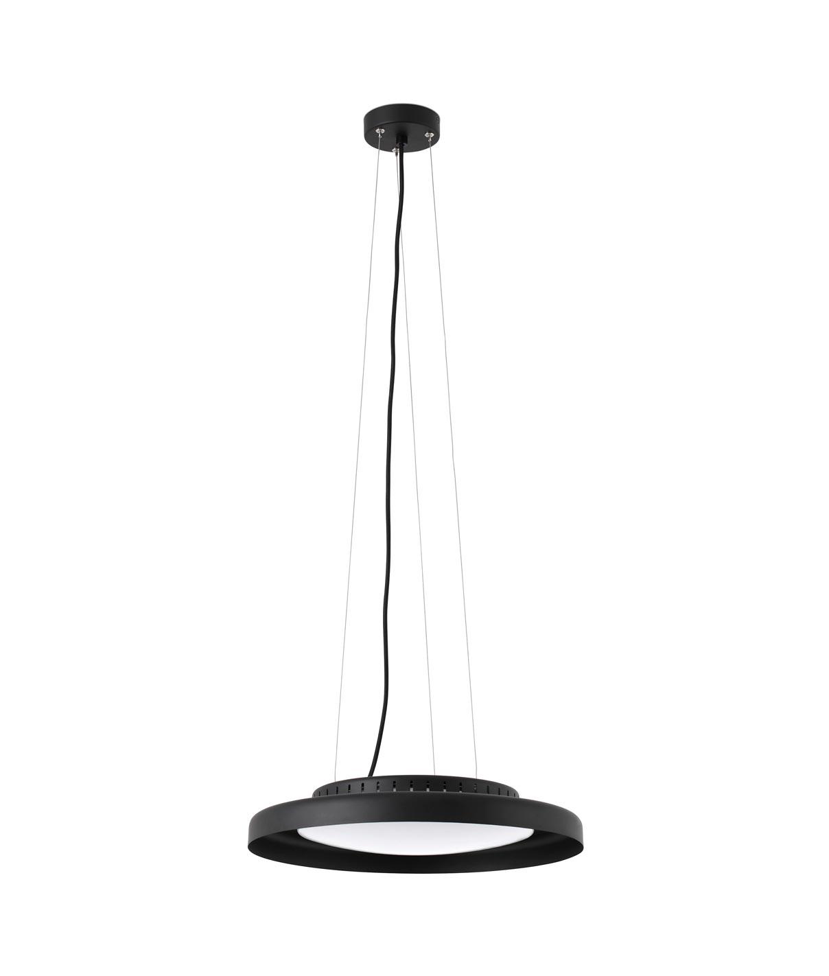 Lámpara colgante negra DOLME LED