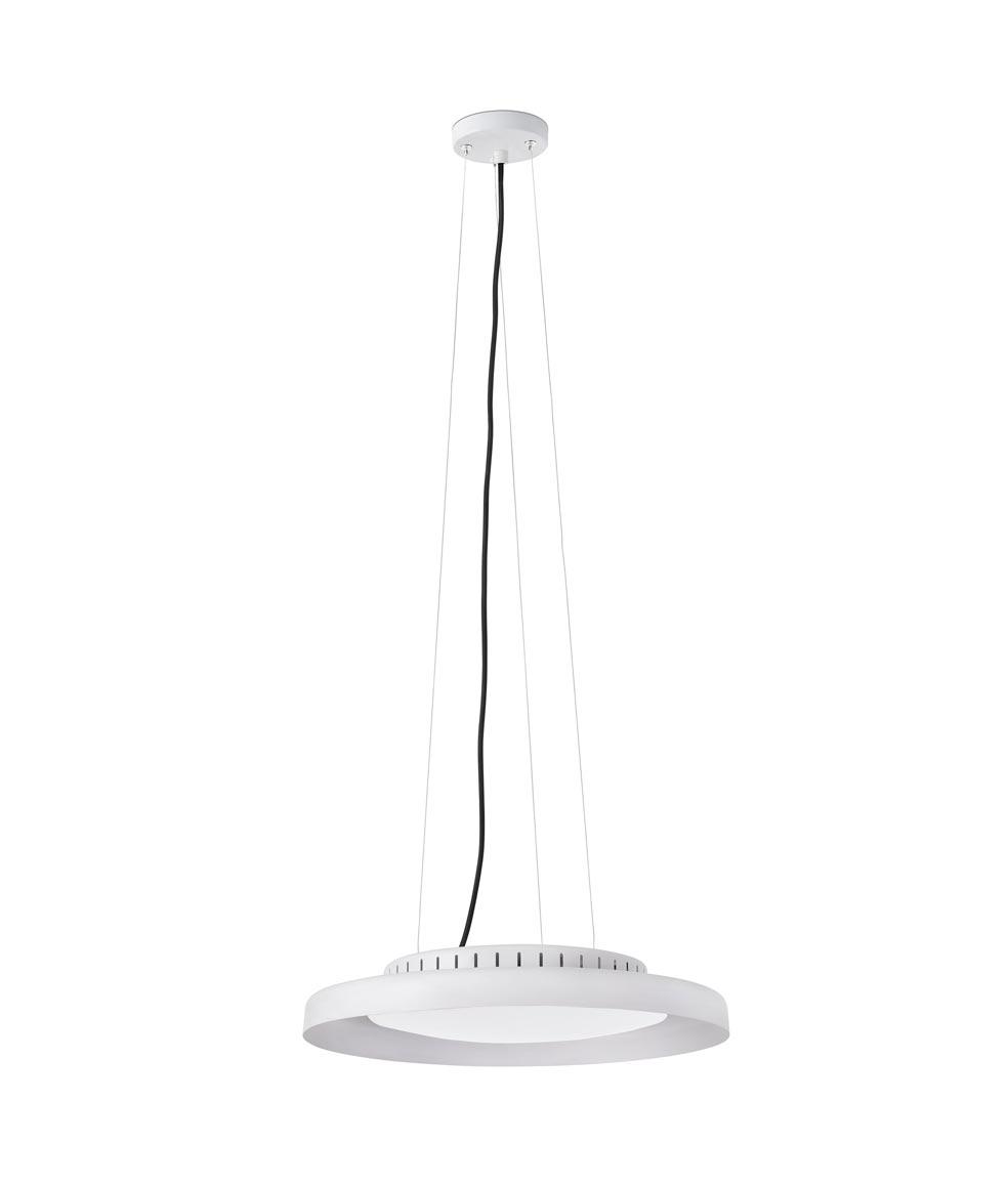 Lámpara de techo blanca DOLME LED