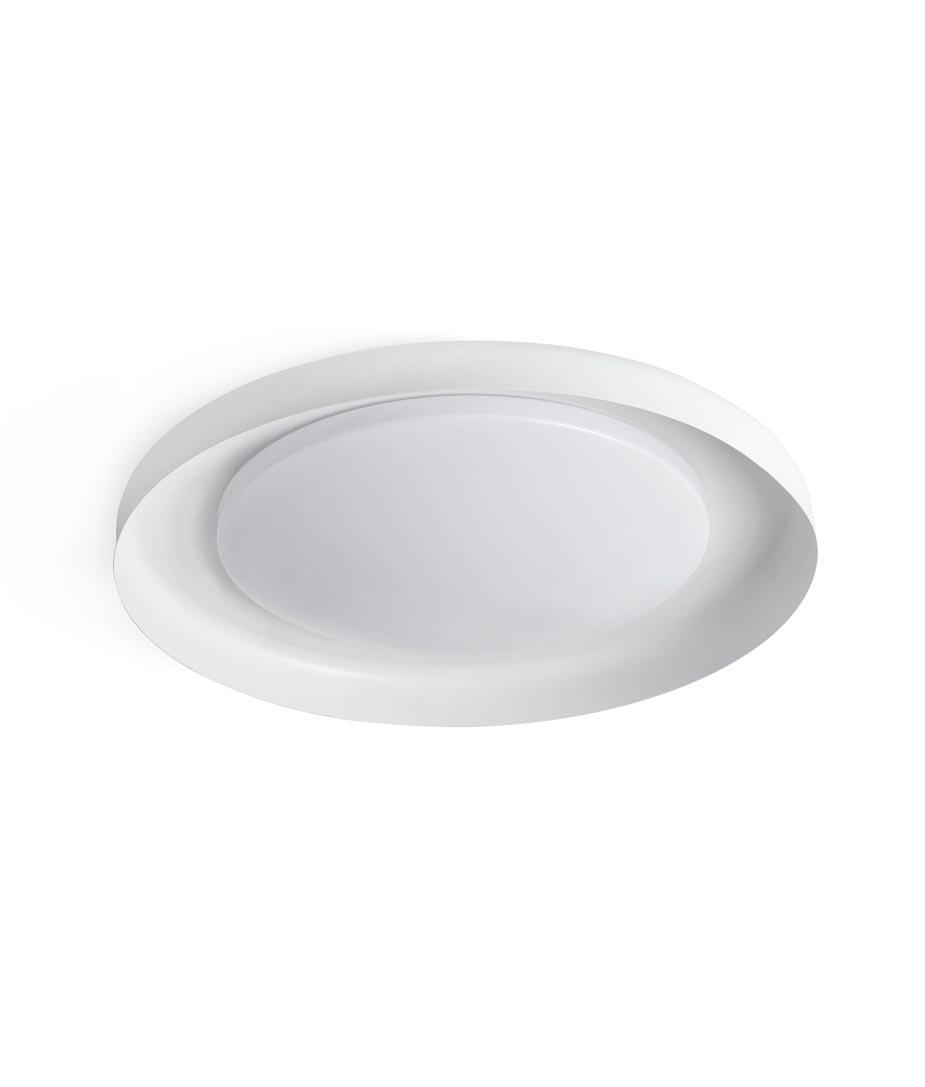 Plafón blanco DOLME LED detalle 2